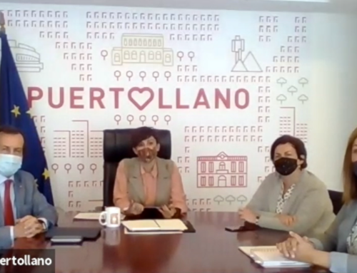Signature of the CSR Agreement between Renovalia and Puertollano's Town Hall.